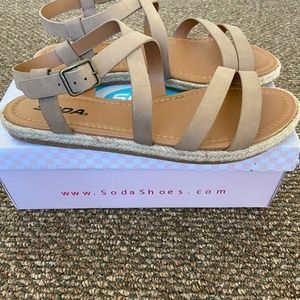 Modcloth Channeling Casual Sandal